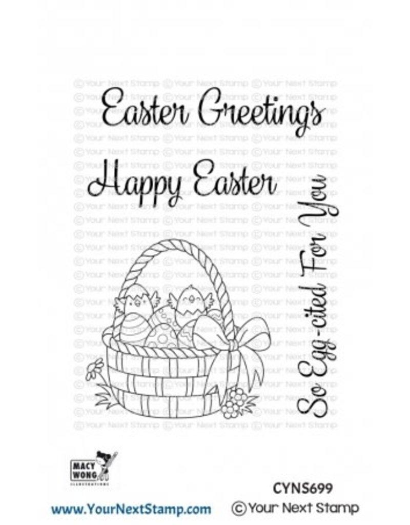 Your Next Stamp Easter Basket Clear Stamp Set
