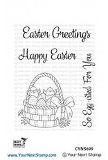 Your Next Stamp Easter Basket Die Set