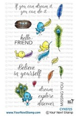 Your Next Stamp Fabulous Feathers Clear Stamp Set