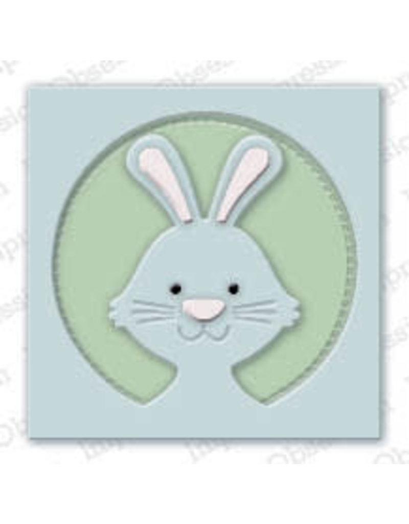 Impression Obsession Bunny Frame