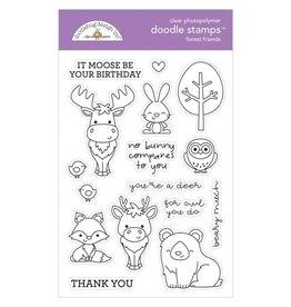 Doodlebug Design Inc. Forest Friends - Clear Stamp Set