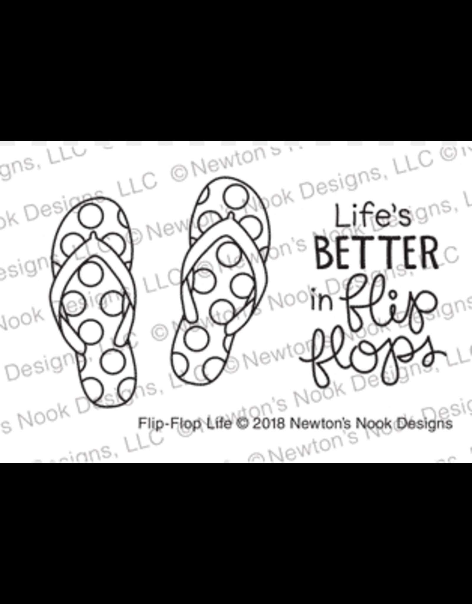 Newton's Nook Flip Flop Life - Die Set