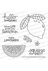 Newton's Nook Lemon Twist Die Set