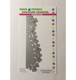 Paws-Itively Pawsome Designs Lucky Clover Border - Die