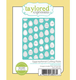 Taylored Expressions Eggceptional Cutting Plate Die