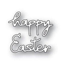 Poppystamps, Inc. Doodle Happy Easter - Die (RETIRED) (25%)