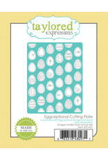 Taylored Expressions Eggceptional - Background Cling Stamp Set