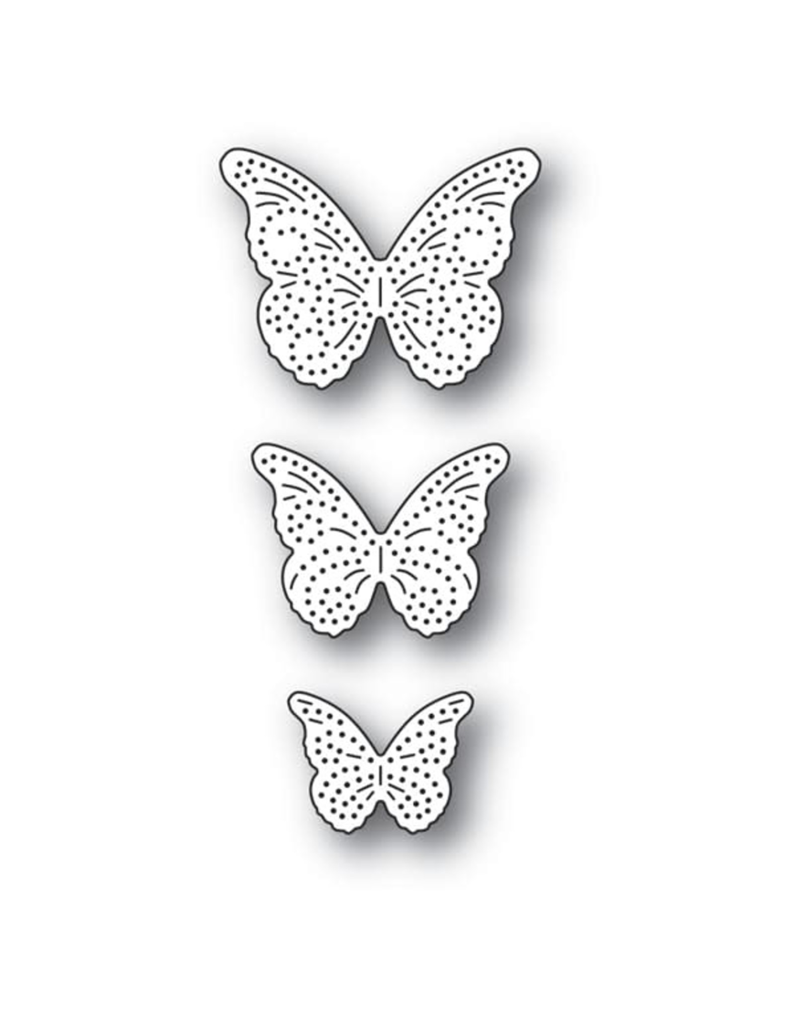Memory Box Pinpoint Butterfly Trio - Die
