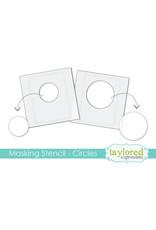 Circles - 6x6 Designer Masking Stencil