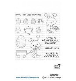 Your Next Stamp Egg Hunt - Clear Stamp Set