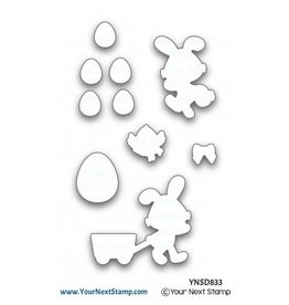 Your Next Stamp Egg Hunt - Die Set