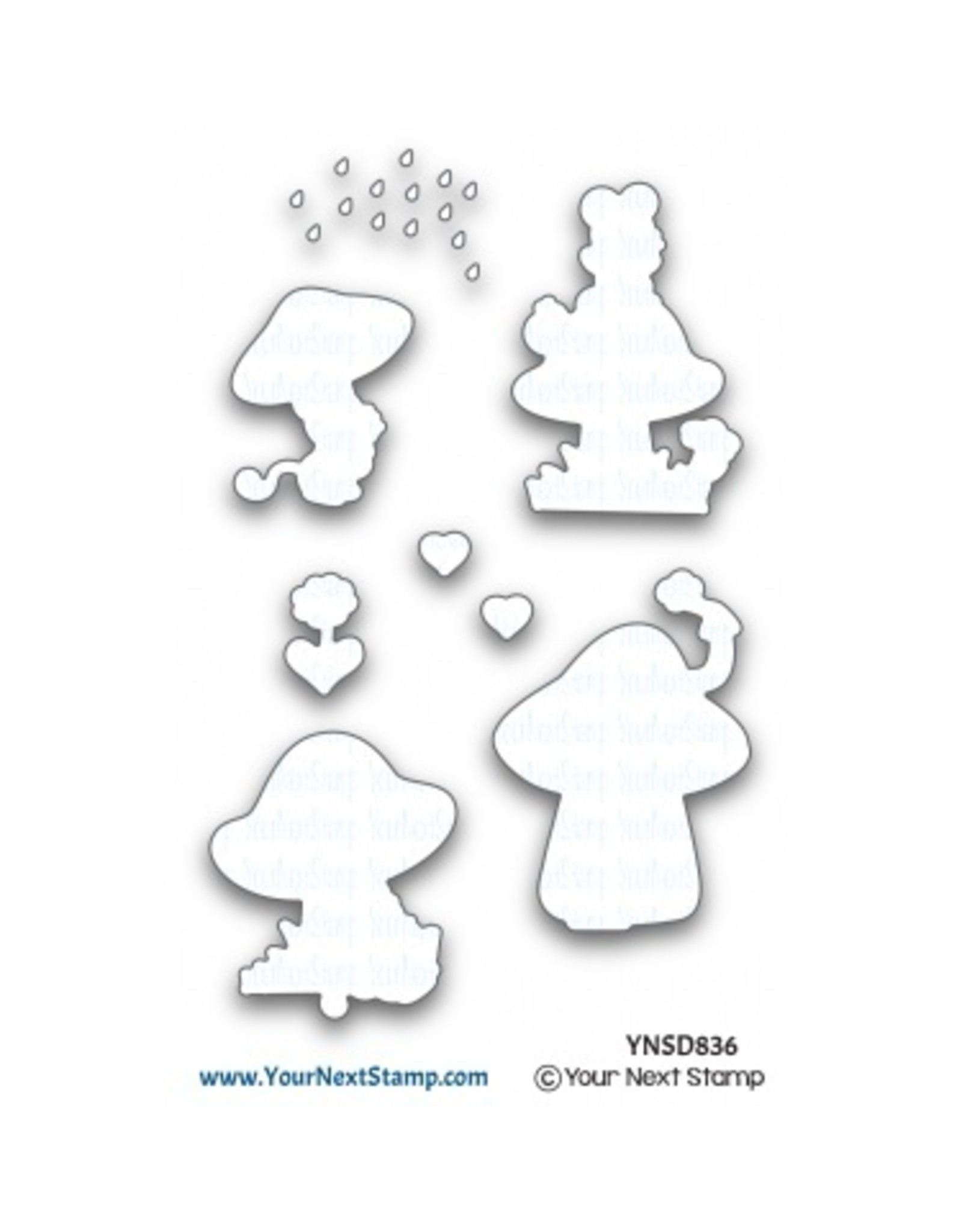 Your Next Stamp So Mush Fun - Clear Stamp Set