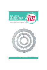 Avery Elle Wonky Circles Frames - Die
