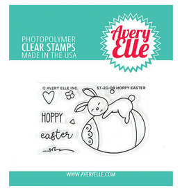 Avery Elle Hoppy Easter - Clear Stamp Set