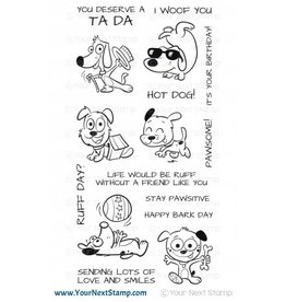 Your Next Stamp Paw-some Pups - Clear Stamp Set