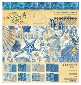 Graphic 45 Ocean Blue - 8x8 Paper Pad