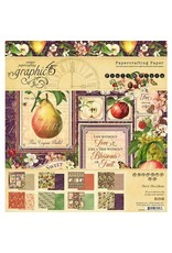 Graphic 45 Fruit & Flora - 8x8 Paper Pad