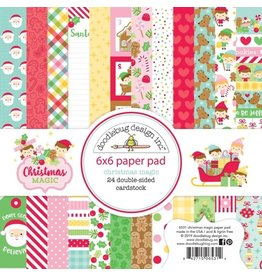 Doodlebug Design Inc. Christmas Magic - 6x6 Paper Pad