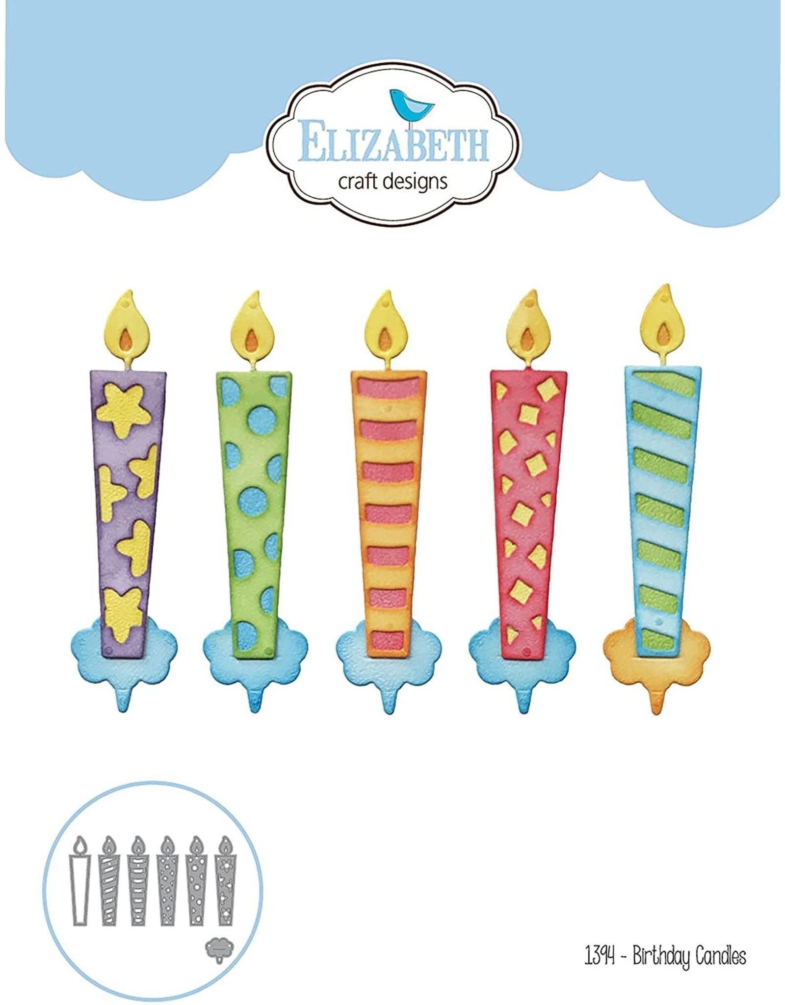 Elizabeth Craft Designs Birthday Candles - Die