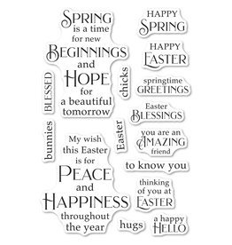 Poppystamps, Inc. Springtime Fun - Clear Stamp Set