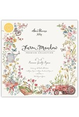 Craft Consortium Farm Meadow - 6x6 Paper Pad