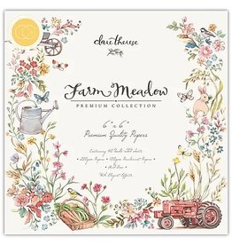 Craft Consortium Farm Meadow - 6x6 Paper Pad