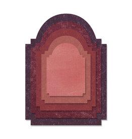 Ellison/Sizzix Stacked Archway - Thinlits Die Set (RETIRED) (25%)