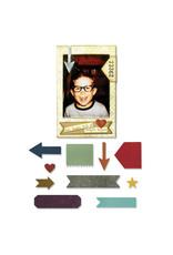 Ellison/Sizzix Pocket Frame - Thinlits Die Set (RETIRED) (25%)