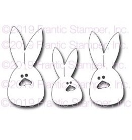 Frantic Stamper Inc Sack Bunnies - Die Set