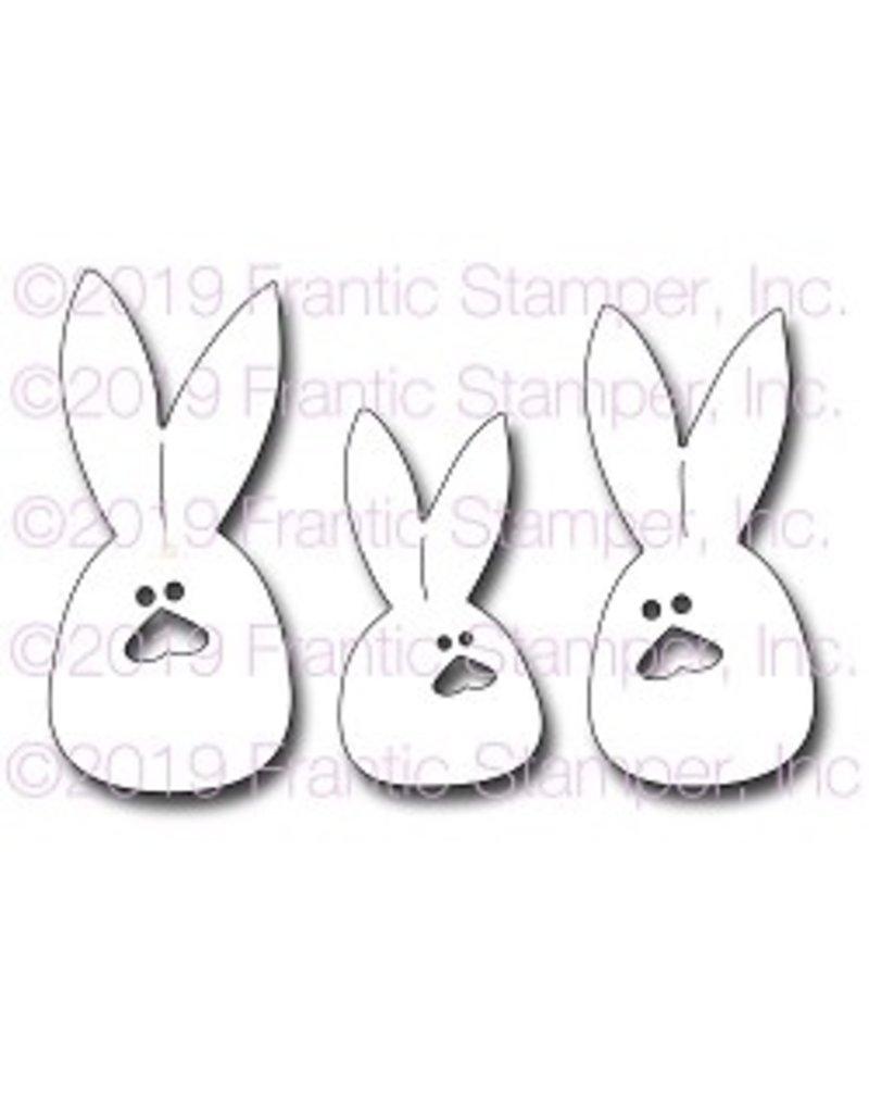 Frantic Stamper Inc Sack Bunnies - Die Set
