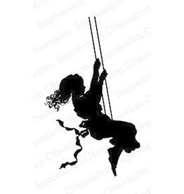 Impression Obsession Girl Swing - Cling Stamp