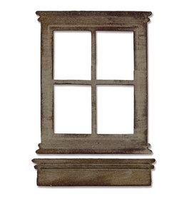 Ellison/Sizzix Window & Window Box - Die (RETIRED) (40%)