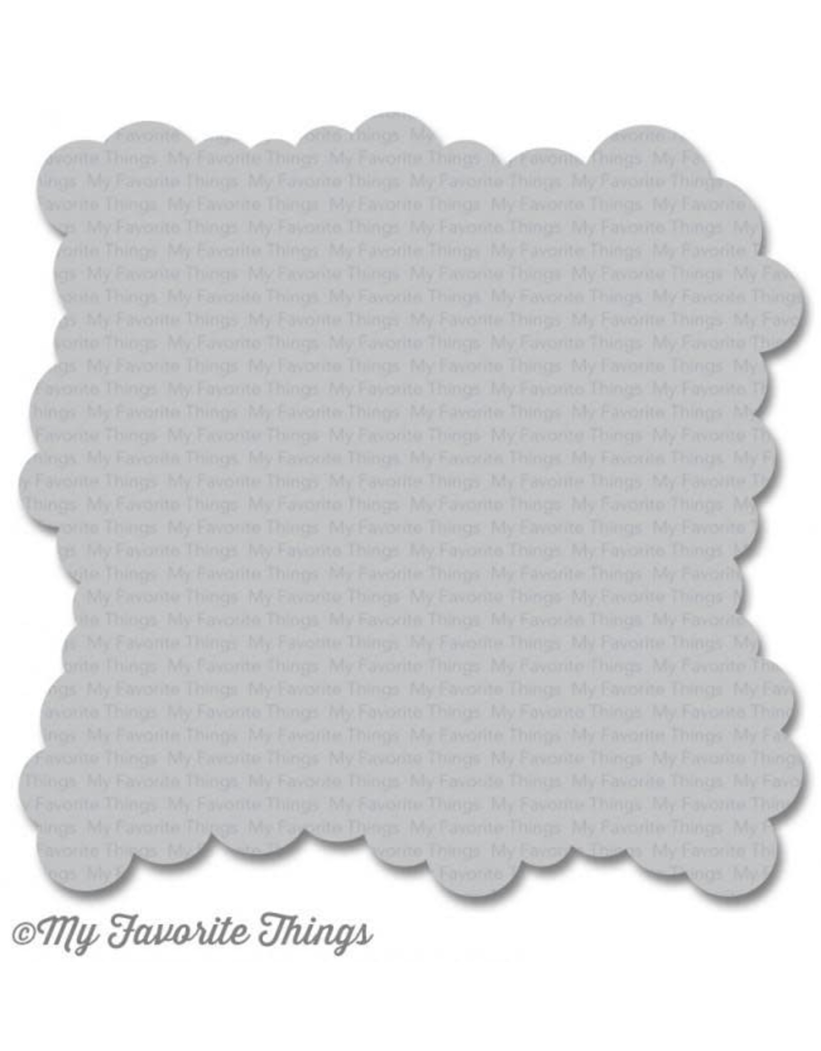 My Favorite Things Mini Cloud Edges - Stencil