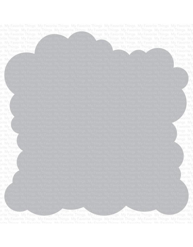 My Favorite Things Cloud - Stencil