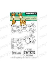 Penny Black Happy Heights - Clear Stamp Set