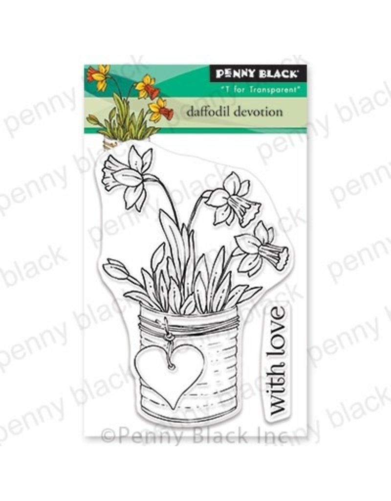 Penny Black Daffodil Devotion - Clear Stamp Set