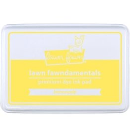Lawn Fawn Lawn Fawndamentals Dye Ink Pad - Lemonade
