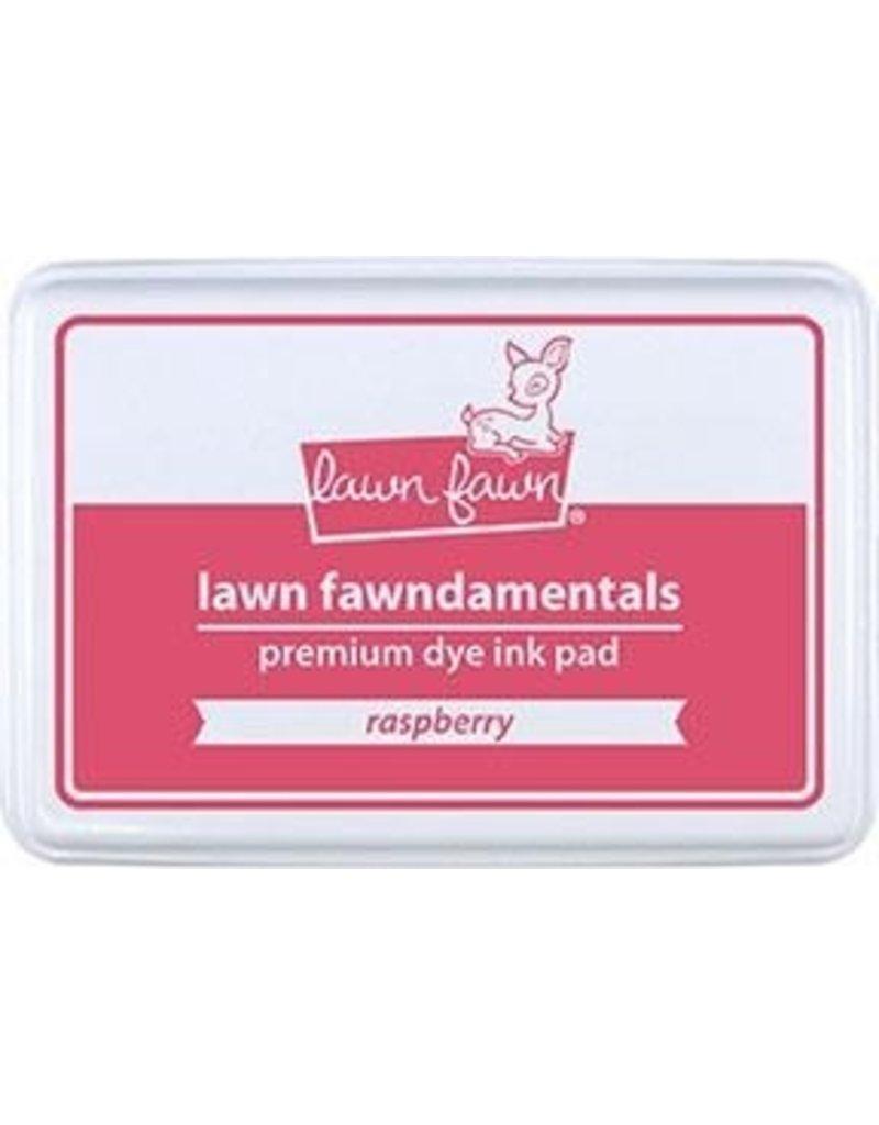 Lawn Fawn Lawn Fawndamentals Dye Ink Pad - Raspberry