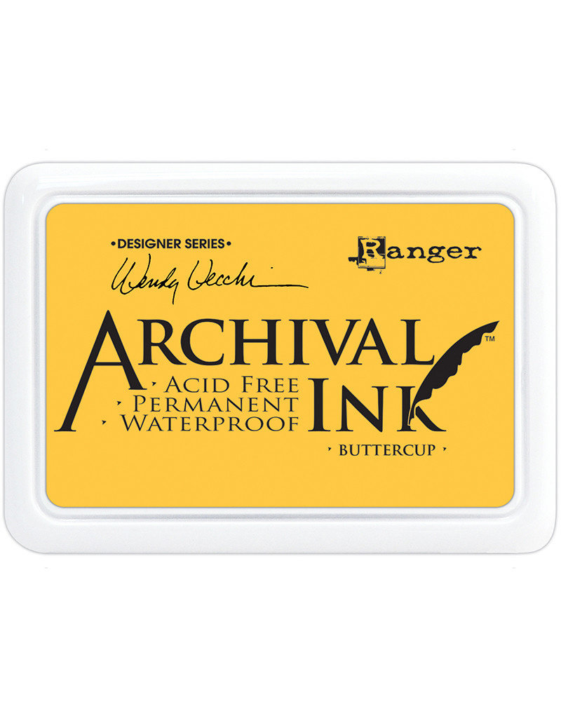 Ranger Archival Ink - Buttercup