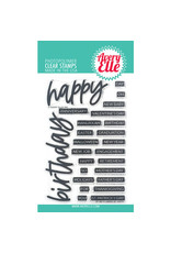 Avery Elle Loads of Happy - Clear Stamps