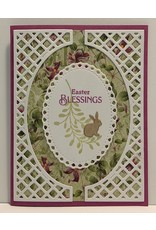 Poppystamps, Inc. Tall Curve Border (PICKET) - Die