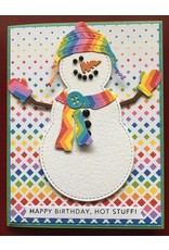 Impression Obsession Snowman Accessories - Die