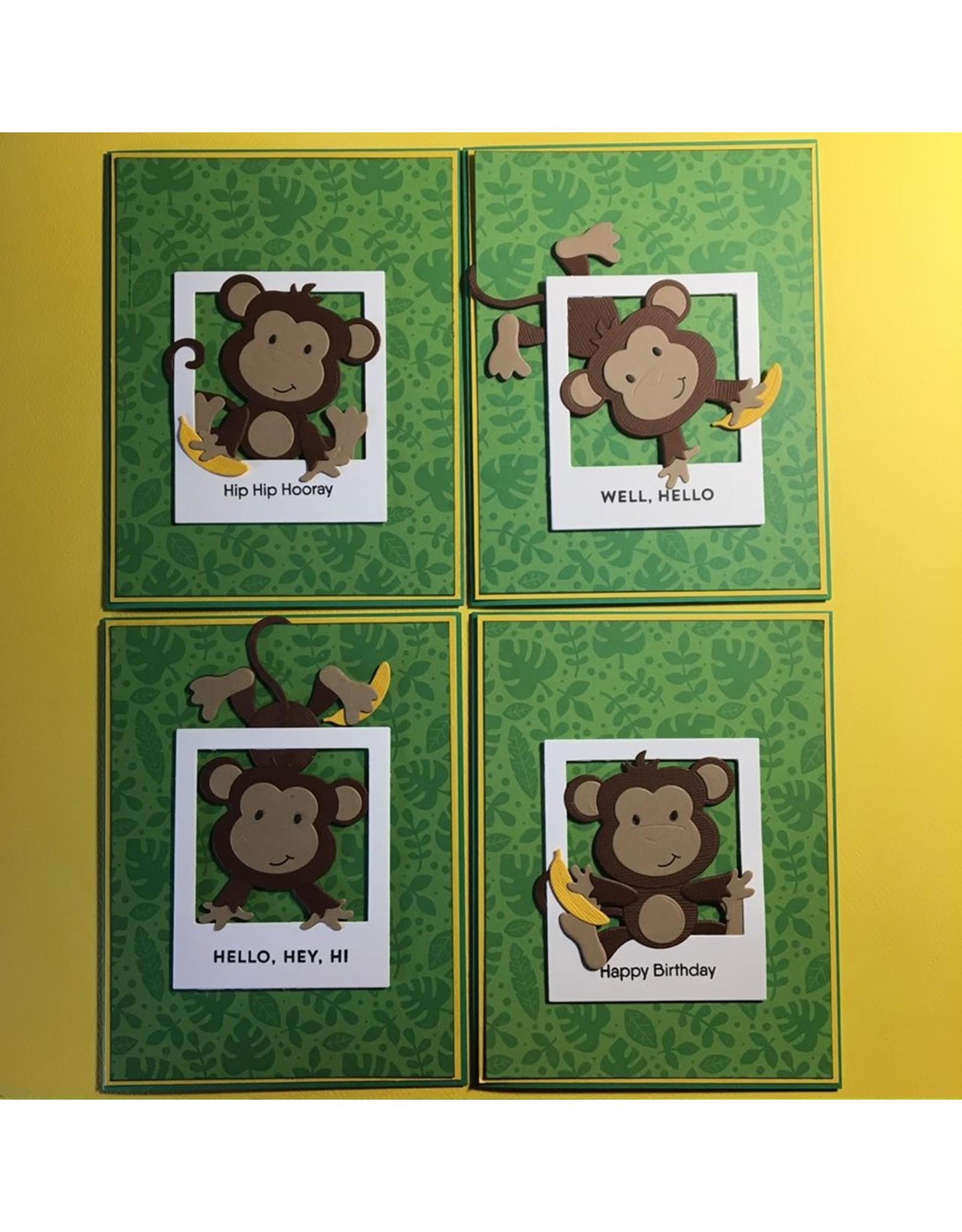Elizabeth Craft Designs Monkey - Die
