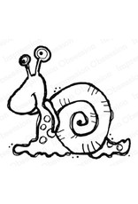 Impression Obsession Snail (IO) - Cling Stamp