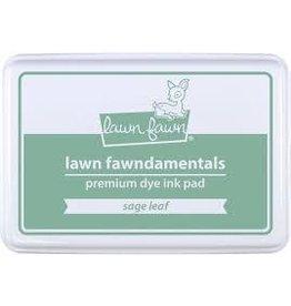 Lawn Fawn Lawn Fawndamentals Dye Ink Pad - Sage Leaf