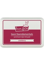 Lawn Fawn Lawn Fawndamentals Dye Ink Pad - Cranberry