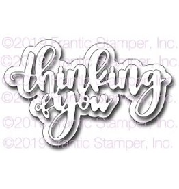 Frantic Stamper Inc Giant Layered Thinking of You - Die