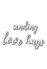 Frantic Stamper Inc Sending Love/Hugs (set of 3) - Dies