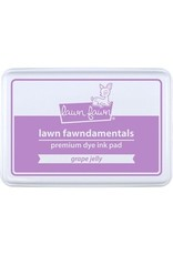 Lawn Fawn Lawn Fawndamentals Dye Ink Pad - Grape Jelly