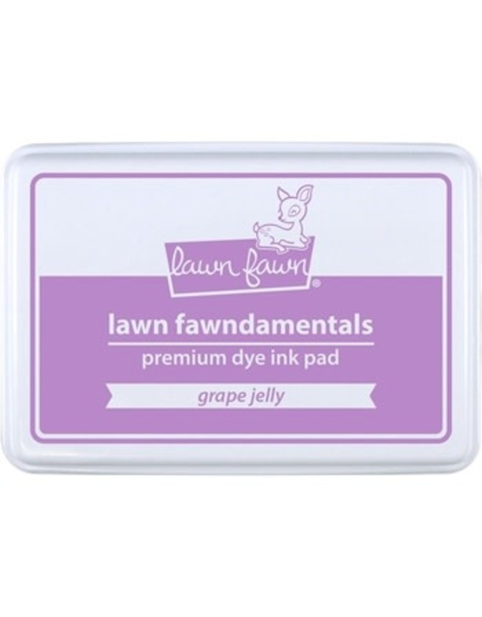 Lawn Fawn Lawn Fawndamentals Dye Ink Pad - Grape Jelly